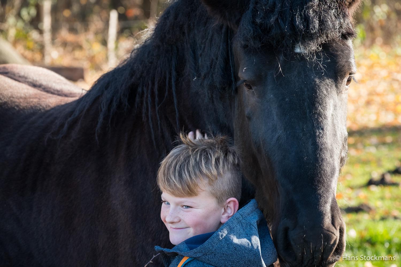 Bas en het paard.